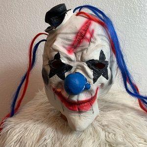 Horror mask clown